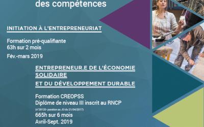 Formations à l'entrepreneuriat en ESS