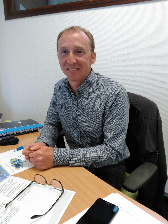 Yann Le Gall, directeur de la nouvelle MFR de Loudéac