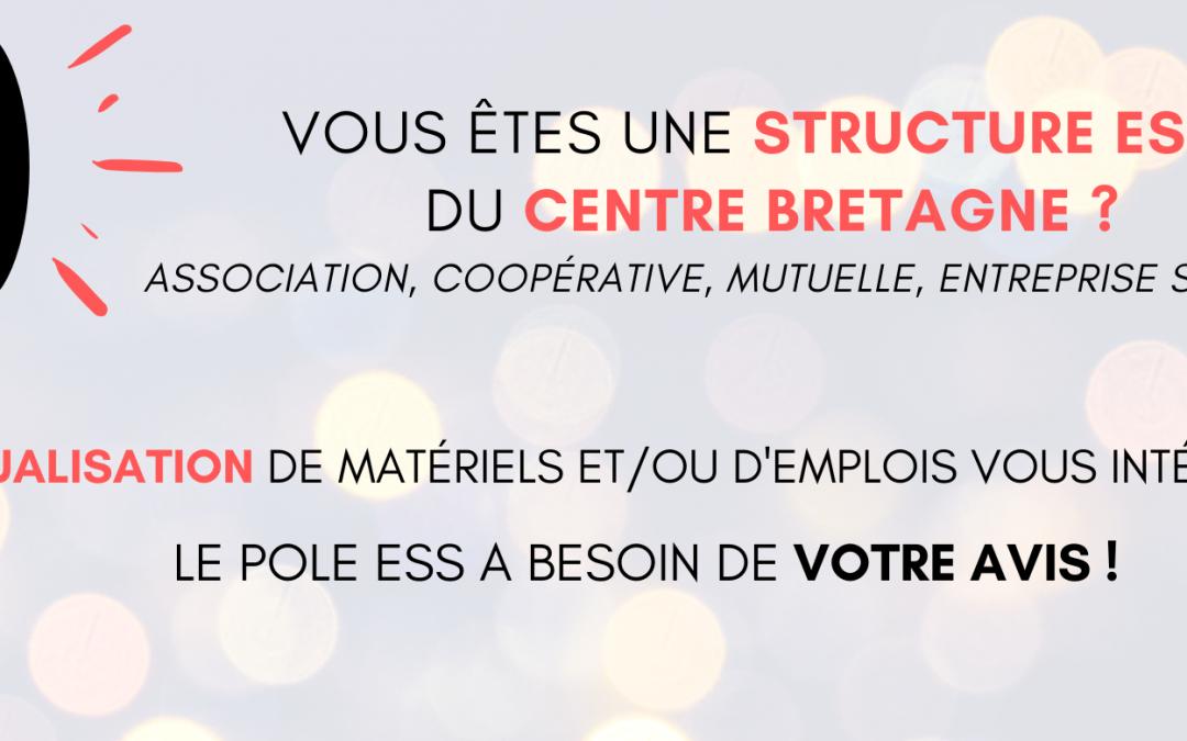 Etude d'un outil de mutualisation d'emplois et/ou de matériels entre structures de l'ESS