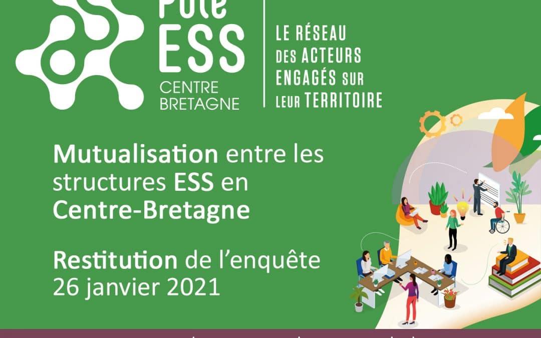 Résultat de l'étude sur la mutualisation en Centre-Bretagne!